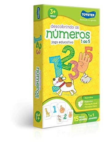 Descobrindo os Números 1 ao 5 Toyster Brinquedos