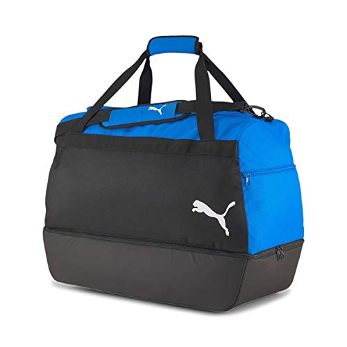 Puma teamGOAL 23 Teambag M BC (Boot Compartment), Borsone Unisex-Adult, Electric Blue Lemonade Black, OSFA