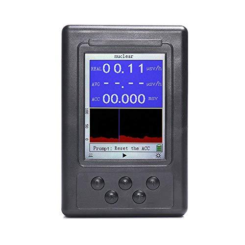 KKmoon Detector de radiación Pantalla digital Dosímetro portátil Contador Geiger nuclear Beta Gamma X-ray Tester