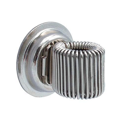 Infinity Boxes Magnet, magnetischer Stifthalter, silber, rund, Ø 2 cm