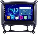 Hesolo El Reproductor de Video para automóvil con navegación GPS es Adecuado Compatible con Chevrolet Colorado Navigation Auto GPS Navigator Control Central Gro & szlig; Bild-MP5 4G + 64G