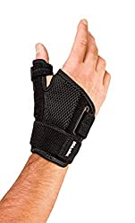Mueller Reversible Thumb Stabilizer, Black, One Size Fits Most | Stabilizing Thumb Brace: Health & Personal Care