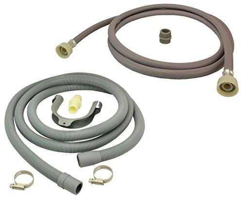 Ariston lave-vaisselle remplissage eau tuyau /& vidange prise tuyau universel extension 2.5m