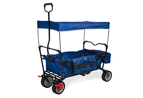 Pinolino 238013 Paxi Dlx Frein Chariot Pliable Bleu