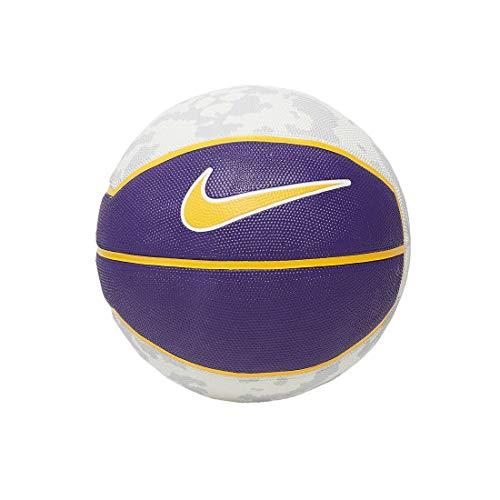 Nike Unisex– Erwachsene Lebron Playground 4P Basketball, Field Purple/Amarillo/White/Amarillo, 7