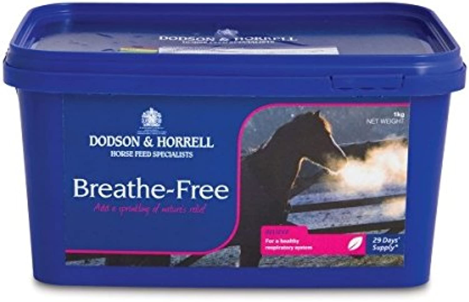 Dodson & Horrell Breathe Free with QLC for Horses, 1 kg