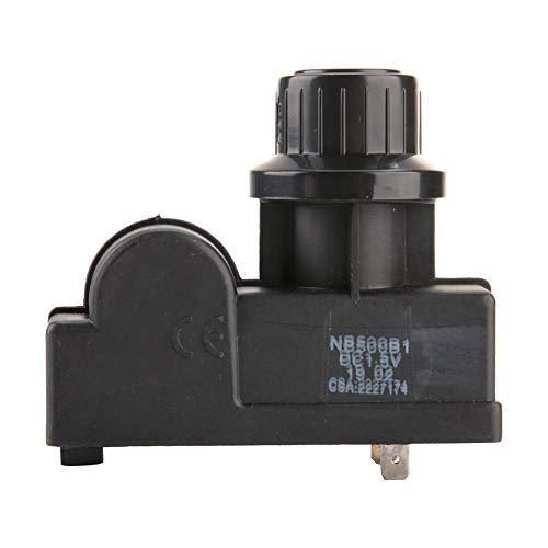 TOPINCN Zündknopf, Mikroschalter für Zündung, elektrischer Funkengenerator mit hoher Frequenz, langlebig, für Gasgrill (2 Ausgänge)