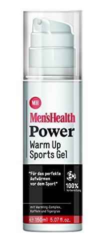 Men´s Health Power Warm Up Sports Gel  - vegan & parabenfrei, 1er  Pack (1 x  150 ml)