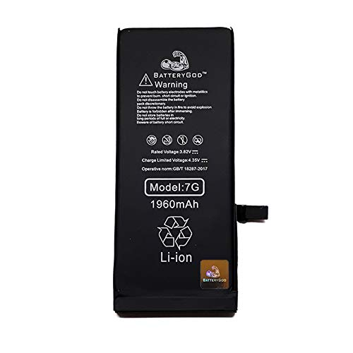 diBri Batterygod Mobile Phone 1960mAh Battery for iPhone 7G