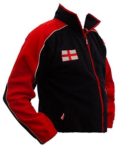 Tour Coll Polaire Angleterre Bleu Marine M