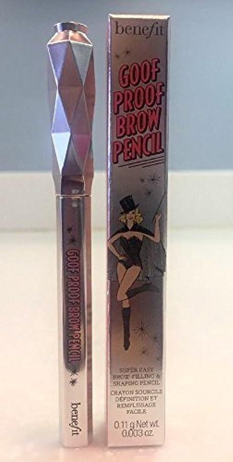 忘れるロードされた動かないbenefit goof proof brow grow super easy brow filling and shaping pencil travel size - 03 Medium 0.11 g / 0.003 oz [並行輸入品]