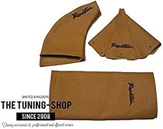 The Tuning-Shop Ltd For Mazda Mx-5 Mk1 NA 1989-1997 Shift Boot Black Leather