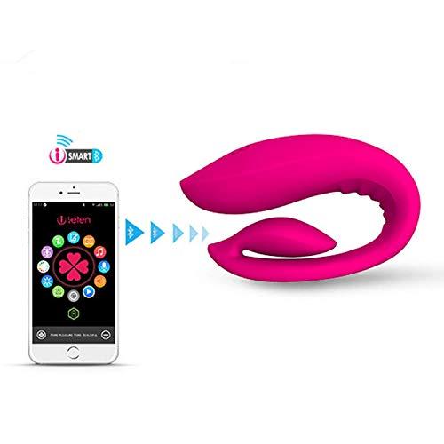Couple Toy Bondage Sexxyartphone App Telecomando Ricarica Coppia impermeabile Massaggiatore per privacy Stimolazione della privacy Giocattoli da diporto unisex per coppia