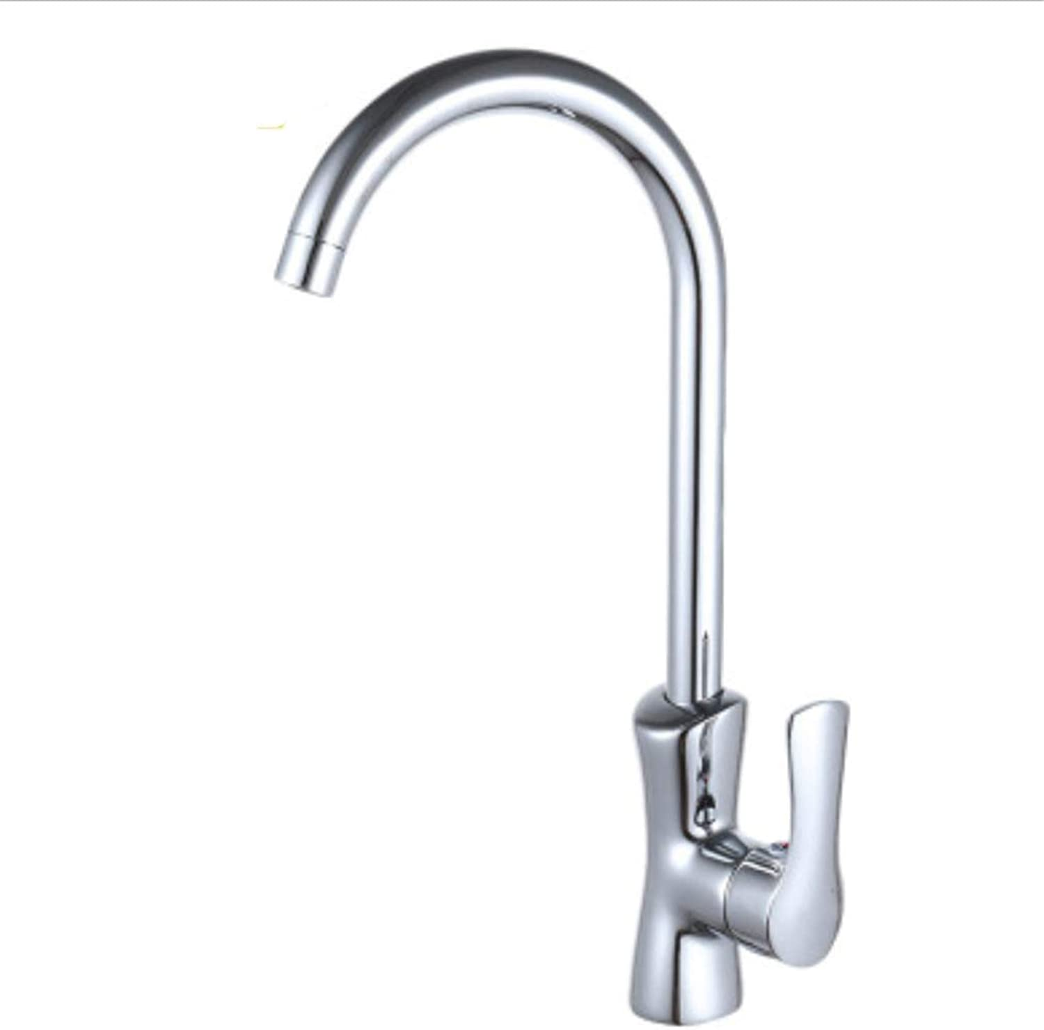 Pull Out The Pull Down Stainless Steelkitchen Faucet, Pots, Tap, Copper, Jade Pillow, Hot and Cold Water, Vegetable Basin, Sink, redary Faucet.