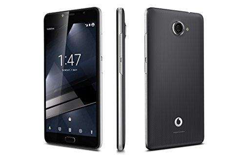 Vodafone Smart Ultra 7 Handy (14 cm / 5,5 Zoll), Full HD 4G, 13 MP, 16 GB, Android 6.0, silberfarben