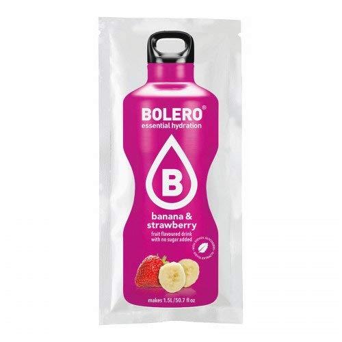 Bebida de Bolero - Plátano y Fresa con Stevia (Paquete de 12)