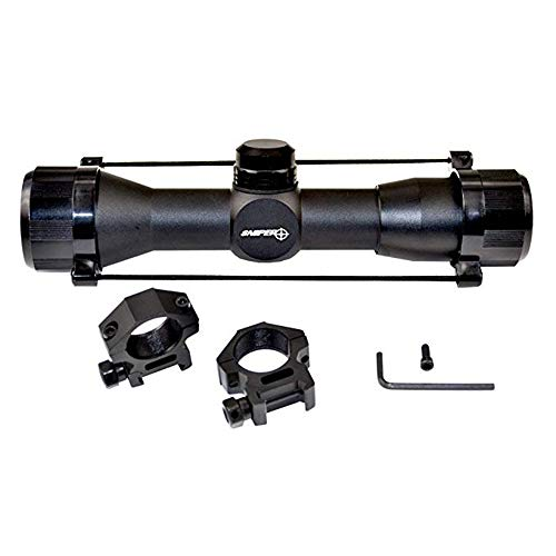 Sniper Compact Rifle Scope MT4x32M with Ring, Hunting Scope,...