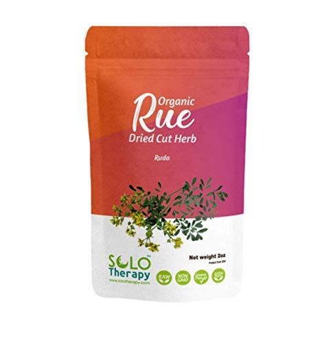 Organic Rue Herb 2 oz. , Rue Dried Cut Herb, Ruta Graveolens L., RUDA Seca ,Rue...
