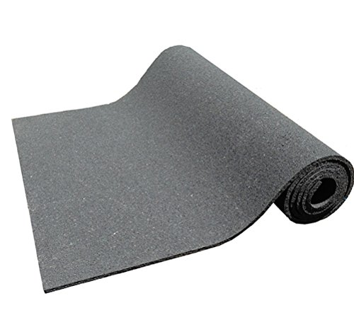 Kharma Khare legado Reencarnado antideslizante respetuoso con el medio ambiente Yoga Mat (7mm, color negro)