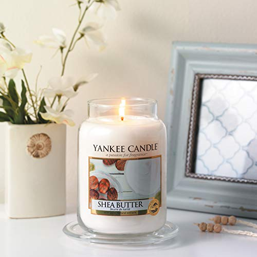 Yankee Candle Large Jar Candle, Shea Butter