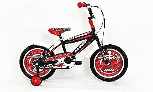 Hoopfietsen 16 Zoll Jungen Fahrrad Superbomber