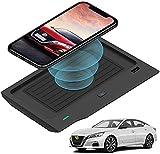 Chargeur sans Fil Voiture,pour Nissan Altima 2019 2020 2021 Console Centrale Panneau Accessoires,...
