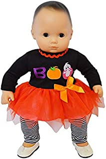 Brittany's Spooky Boo Outfit Compatible with Bitty Baby Dolls- 15 Inch Doll Clothes