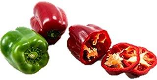 California Wonder Bell Pepper Seed Heirloom Save Bulk Green Red #61 (1600 Seeds)
