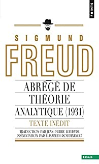 Abrégé de théorie analytique par Sigmund Freud