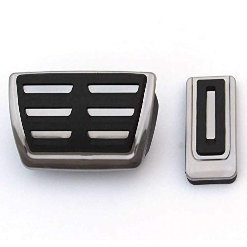 ZIMAwd Bremswagenpedalauflagen Mattenabdeckung, passend für Volkswagen Multivan T5...