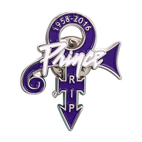 The Kid of Minneapolis Prince Anstecker Metall emailliert Logo Love Symbol