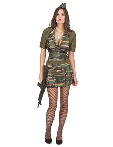 Generique Disfraz Militar Mujer S