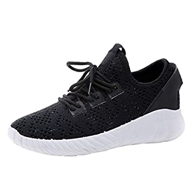 RAINED-Women's Running Shoes Hollow Sneakers Breathable Comfortable Casual Shoes Light Weight Slip on Walking Shoes