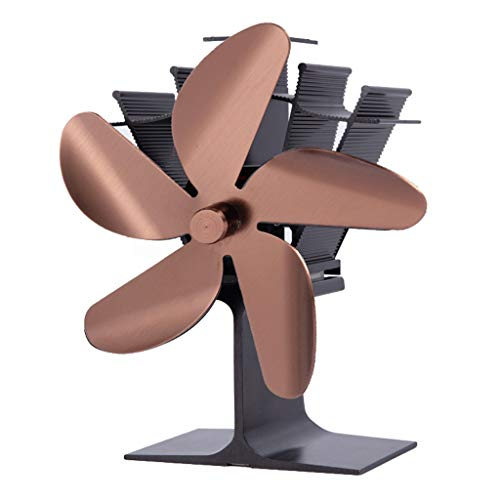 Marginf 5 Klingen wärmebetriebener Ofen Kamin Ventilator Holzofen Ecofan leise effizient