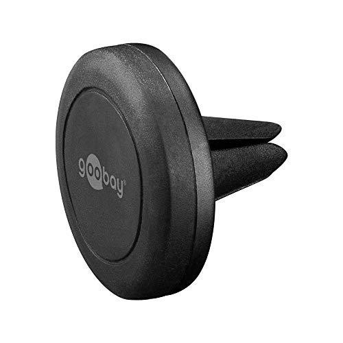 Goobay 47145 Universal Magnethalterungs-Set für Smartphone schwarz