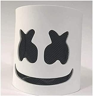 Auch DJ Mask, Music Festival Helmets, Latex Full Head Masks Christmas Party Props Costume Masks White
