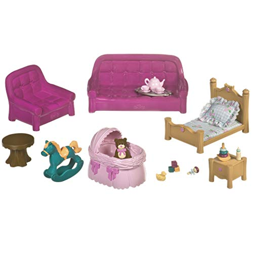Lil Woodzeez Living Room & Nursery Set - Can Be Used with All Families & Environments - Ages 3+