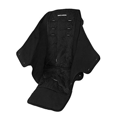 Maclaren Asiento Quest - asiento reemplazable y lavable a máquina que se adapta a los buggies Quest. Disponible en negro