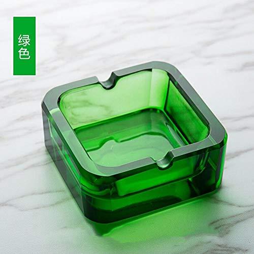 posacenere per posacenere Posacenere in cristallo Tendenza moda creativa Soggiorno in ufficio Bar posacenere-grande_verde