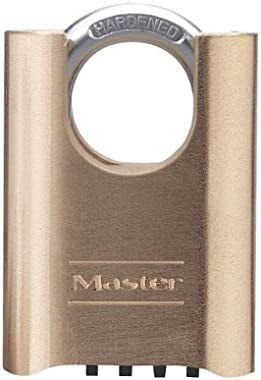 Master Lock 177 2-inch Shrouded Set-Your-Own Combination Padlock