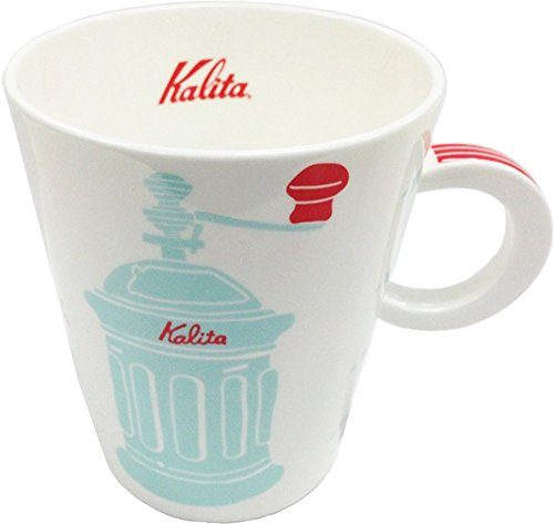 Tasse à motif de moulin à café (Bleu) / Kalita