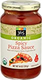 365 Everyday Value, Organic Spicy Pizza Sauce, 14 oz