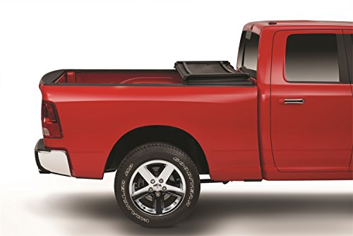 American Tonneau Company Soft Tri-fold Truck Bed Cover | 66201 | fits Dodge Ram 2009-18, 2019 Classic 1500 (5 ft 7 in bed) - does not fit RamBox
