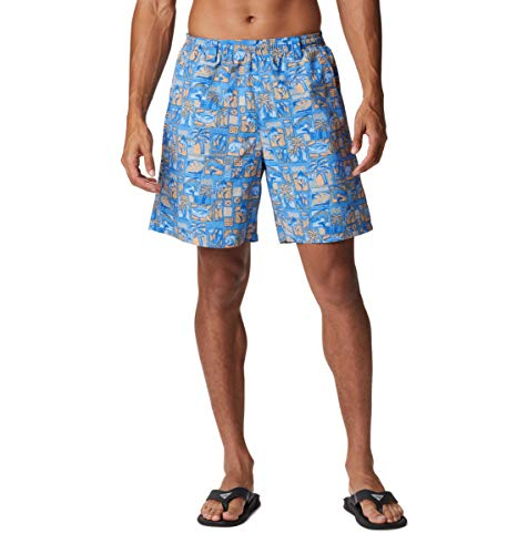 Columbia Super Backcast Water Short Super Backcast Water Short para Hombre, Hombre, Super Backcast Water Short, 171538, Harbor Blue Martinis and Lies Print Cover Case Negro, Small x 8