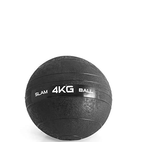 Slam Ball A, 4 kg, LiveUp Sports, Preto