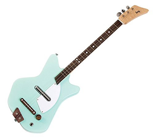 Loog Guitars Loog 3-String Solid-Body Electric Guitar, Lucite (LGE02L)