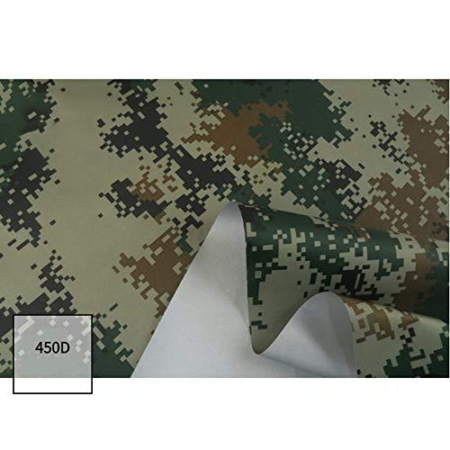ZXGQF Lona de camuflaje, Cubierta impermeable Patrón de ejército poliéster Oxford 450D, Caza Militar Decorar Malla de Camuflaje, para el tiempo libre, acampada, de exterior (1.5M*5M,B)