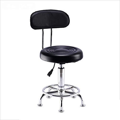 Barhocker Stuhl Höhe Verstellbarer Coffee Shop Stuhl Beauty Hocker Freizeit Empfangsstuhl Drehstuhl