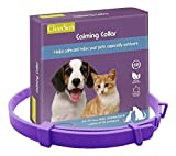 BodyOpia Adjustable Anti-Anxiety Calming Dog Collar for Medium/Large Dogs. Helps nervous dogs to relax and stop barking. Ecofriendly, flexible and comfortable 32 inch / 80cm for a boy or girl