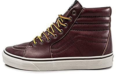 Vans SK8 Hi Groundbreakers Rum Raisin/Marshmallow Men's Skate Shoes Size 8.5